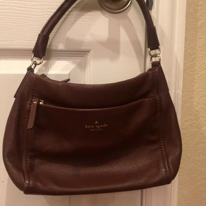 Kate spade small pebble brown bag